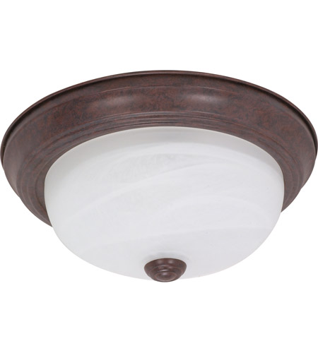 Nuvo Lighting Signature 2 Light Flushmount in Old Bronze 60/2624 photo