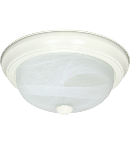 Nuvo Lighting Signature 3 Light Flushmount in Textured White 60/2631 photo