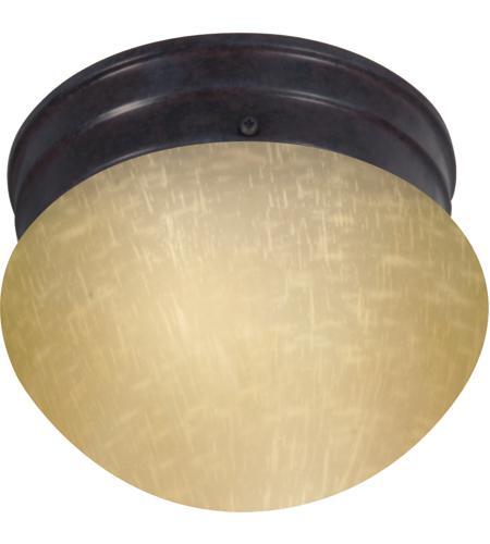Nuvo 602642 champagne linen glass 1 light 6 inch mahogany bronze nuvo 602642 champagne linen glass 1 light 6 inch mahogany bronze flush mount ceiling light aloadofball Images