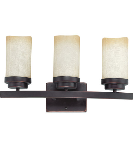 Nuvo Lighting Lucern 3 Light Vanity & Wall in Patina Bronze 60/2771 photo