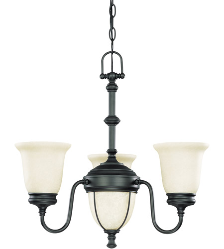 Nuvo Lighting Salem 5 Light Chandelier in Aged Bronze 60/2805 photo