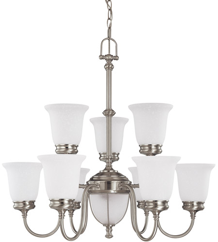 Nuvo Lighting Salem 11 Light Chandelier in Brushed Nickel 60/2809 photo