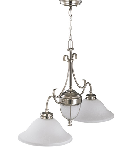 Nuvo Lighting Salem 4 Light Trestle in Brushed Nickel 60/2812 photo