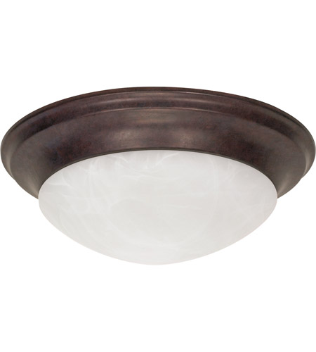 Nuvo 60/282 Signature 3 Light 17 inch Old Bronze Flushmount Ceiling Light photo