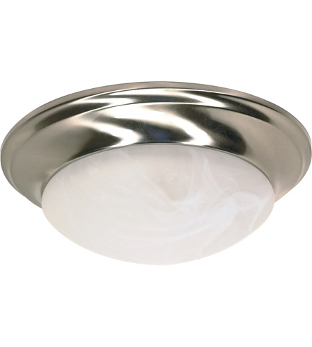 Nuvo 60/283 Signature 1 Light 12 inch Brushed Nickel Flushmount Ceiling Light photo