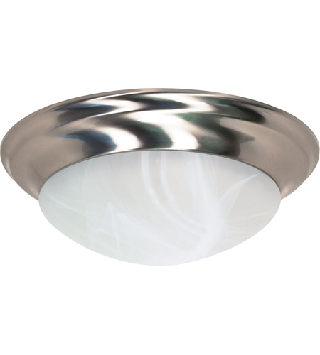 Nuvo 60/285 Signature 3 Light 17 inch Brushed Nickel Flushmount Ceiling Light photo