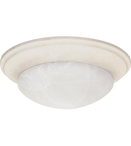 Nuvo 60/287 Signature 2 Light 14 inch Textured White Flushmount Ceiling Light photo