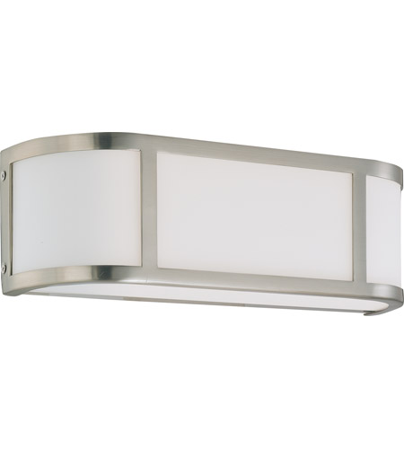 Nuvo 60/2871 Odeon 2 Light 16 inch Brushed Nickel Vanity & Wall Wall Light photo