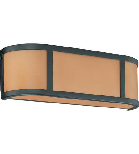 Nuvo Lighting Odeon 2 Light Vanity & Wall in Aged Bronze 60/2872 photo