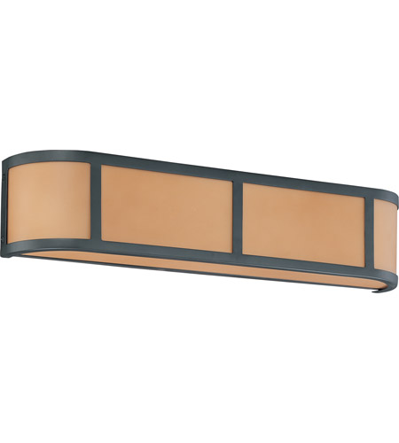 Nuvo Lighting Odeon 3 Light Vanity & Wall in Aged Bronze 60/2874 photo