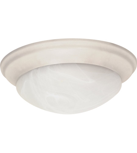 Nuvo Lighting Signature 3 Light Flushmount in Textured White 60/288 photo