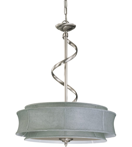 Nuvo Lighting Darwin 3 Light Pendant in Brushed Nickel 60/2885 photo