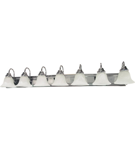 Nuvo 60/290 Ballerina 7 Light 48 inch Polished Chrome Vanity & Wall Wall Light photo
