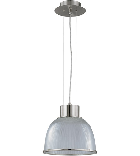 Nuvo 60/2923 Gear 1 Light 12 inch Brushed Nickel Pendant Ceiling Light photo