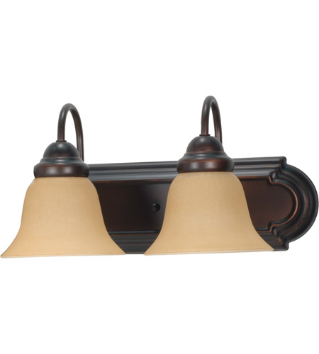 Nuvo 60/3121 Ballerina 2 Light 18 inch Mahogany Bronze Vanity & Wall Wall Light photo