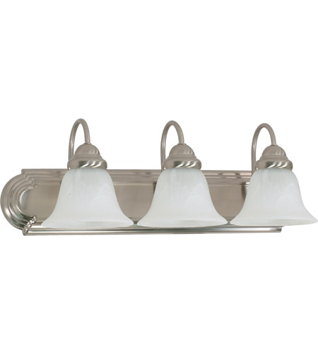 Nuvo 60/321 Ballerina 3 Light 24 inch Brushed Nickel Vanity & Wall Wall Light photo