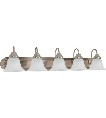 Nuvo 60/323 Ballerina 5 Light 36 inch Brushed Nickel Vanity & Wall Wall Light photo