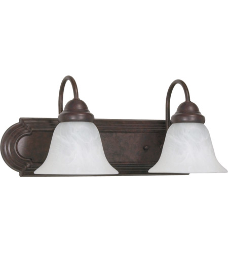 Nuvo Lighting Ballerina 2 Light Vanity & Wall in Old Bronze 60/324 photo