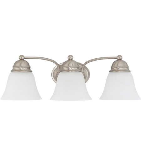 Nuvo Lighting Empire 3 Light Vanity & Wall in Brushed Nickel 60/3266 photo