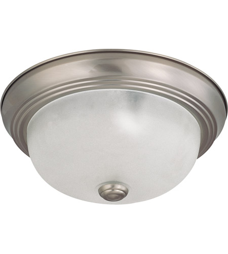 Nuvo 60/3311 Signature 2 Light 11 inch Brushed Nickel Flushmount Ceiling Light photo