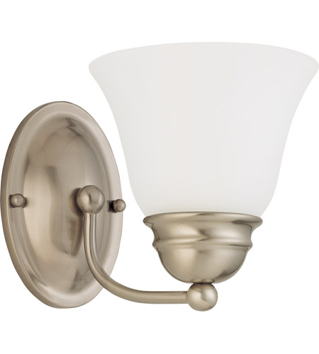Nuvo Lighting Empire 1 Light Vanity & Wall in Brushed Nickel 60/3317 photo