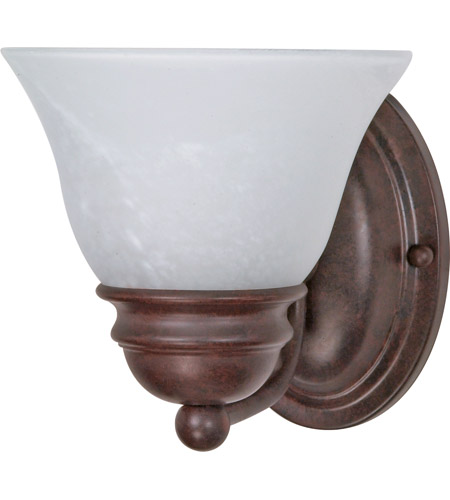 Nuvo Lighting Empire 1 Light Vanity & Wall in Old Bronze 60/344 photo