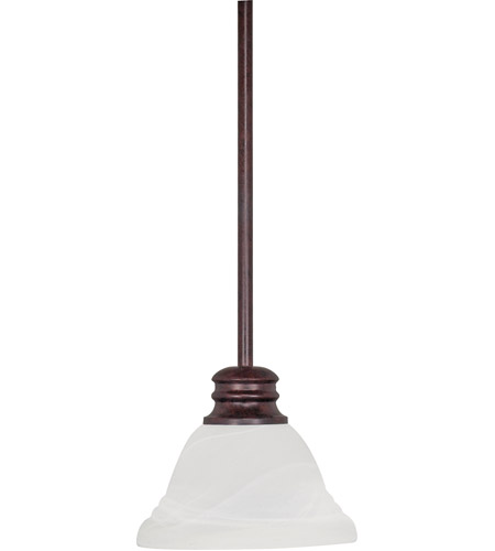 Nuvo 60/366 Empire 1 Light 7 inch Old Bronze Mini Pendant Ceiling Light photo
