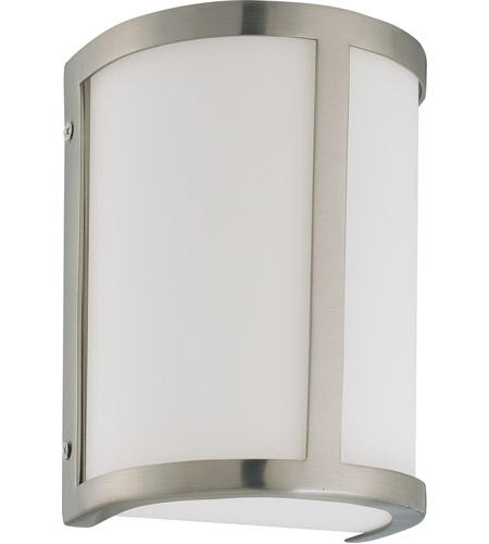 Nuvo 60/3801 Odeon 1 Light 6 inch Brushed Nickel Vanity & Wall Wall Light photo