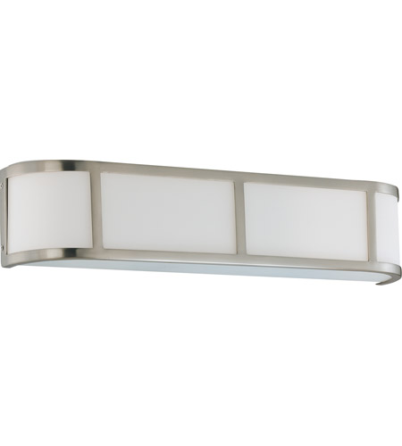 Nuvo 60/3803 Odeon 3 Light 24 inch Brushed Nickel Vanity & Wall Wall Light photo