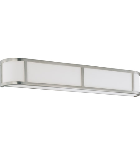 Nuvo Lighting Odeon 4 Light Vanity & Wall in Brushed Nickel 60/3804 photo
