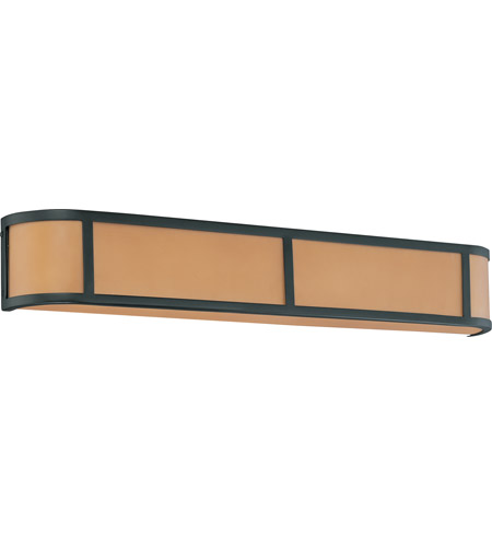 Nuvo Lighting Odeon 4 Light Vanity & Wall in Aged Bronze 60/3824 photo