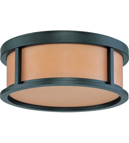 Nuvo Lighting Odeon 2 Light Flushmount in Aged Bronze 60/3831 photo