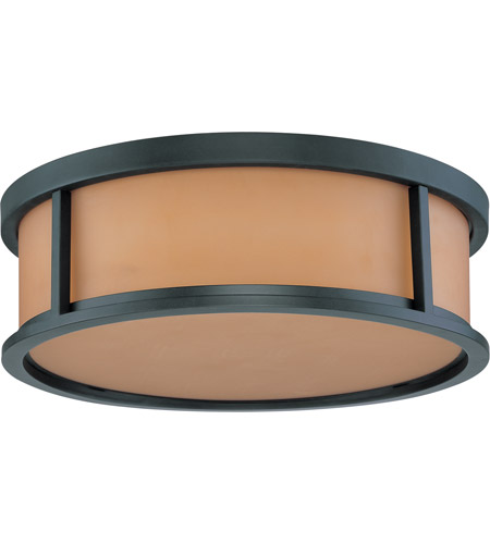 Nuvo Lighting Odeon 3 Light Flushmount in Aged Bronze 60/3832 photo