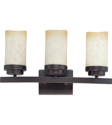 Nuvo Lighting Lucern 3 Light Vanity & Wall in Patina Bronze 60/3843 photo