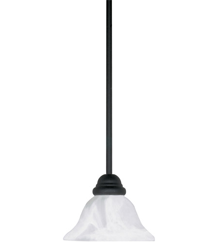 Nuvo 60/386 Castillo 1 Light 7 inch Textured Black Mini Pendant Ceiling Light photo