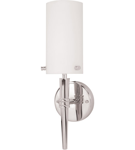 Nuvo Lighting Jet 1 Light Vanity & Wall in Polished Chrome 60/3861 photo