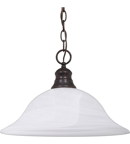 Nuvo 60/391 Signature 1 Light 16 inch Old Bronze Pendant Ceiling Light photo