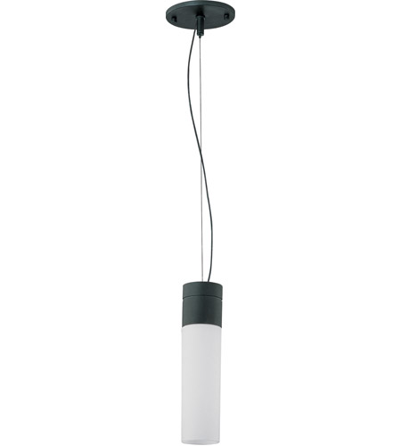 Nuvo Lighting Link 1 Light Pendant in Textured Black 60/3952 photo