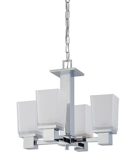 Nuvo Lighting Parker 4 Light Chandelier in Polished Chrome 60/4005 photo