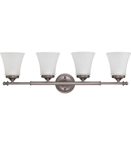 Nuvo Lighting Teller 4 Light Vanity & Wall in Aged Pewter 60/4014 photo