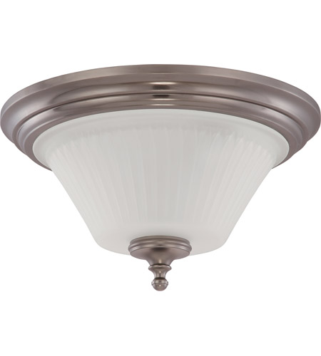 Nuvo Lighting Teller 3 Light Flushmount in Aged Pewter 60/4022 photo