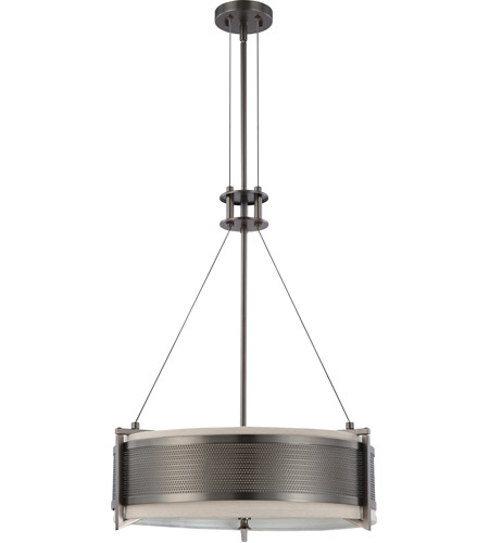 Nuvo Lighting Diesel 4 Light Pendant in Hazel Bronze 60/4033 photo
