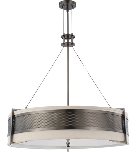 Nuvo Lighting Diesel 6 Light Pendant in Hazel Bronze 60/4034 photo