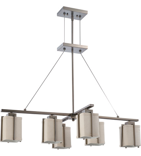 Nuvo Lighting Logan 6 Light Pendant in Hazel Bronze 60/4071 photo