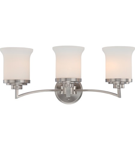Nuvo Lighting Harmony 3 Light Vanity & Wall in Brushed Nickel 60/4103 photo