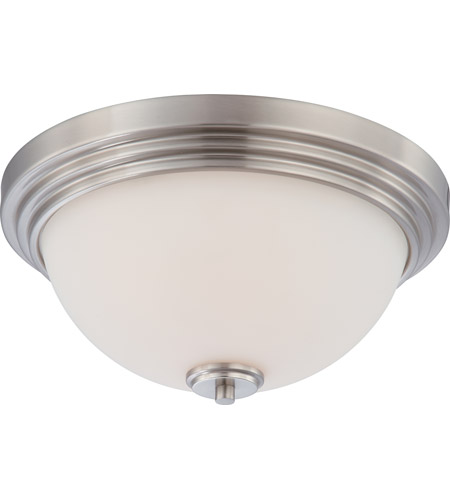 Nuvo Lighting Harmony 2 Light Flushmount in Brushed Nickel 60/4111 photo