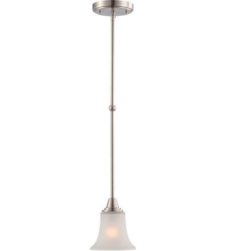 Nuvo 60/4148 Surrey 1 Light 6 inch Brushed Nickel Pendant Ceiling Light photo