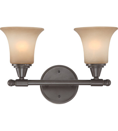 Nuvo Lighting Surrey 2 Light Vanity & Wall in Vintage Bronze 60/4162 photo