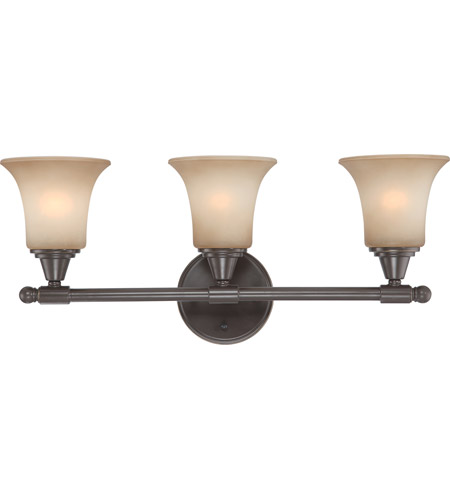 Nuvo 60/4163 Surrey 3 Light 24 inch Vintage Bronze Vanity & Wall Wall Light photo