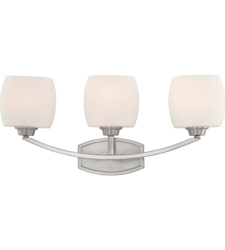 Nuvo 60/4183 Helium 3 Light 25 inch Brushed Nickel Vanity & Wall Wall Light photo